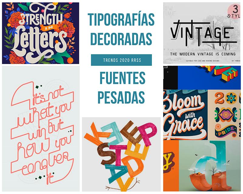 tendencias para diseno grafico redes sociales 2020 - servixmedia - españa