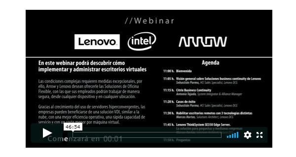 Contenido audiovisual - Webinar - Servixmedia - Grupo Tai - España